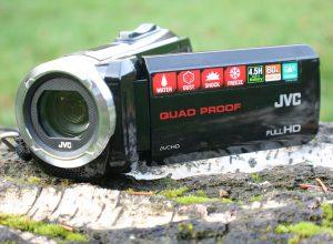JVC HD Everio Action Camcorder GZ-R15BEU