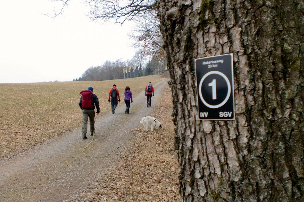 Bloggerwanderung auf dem Hubertusweg