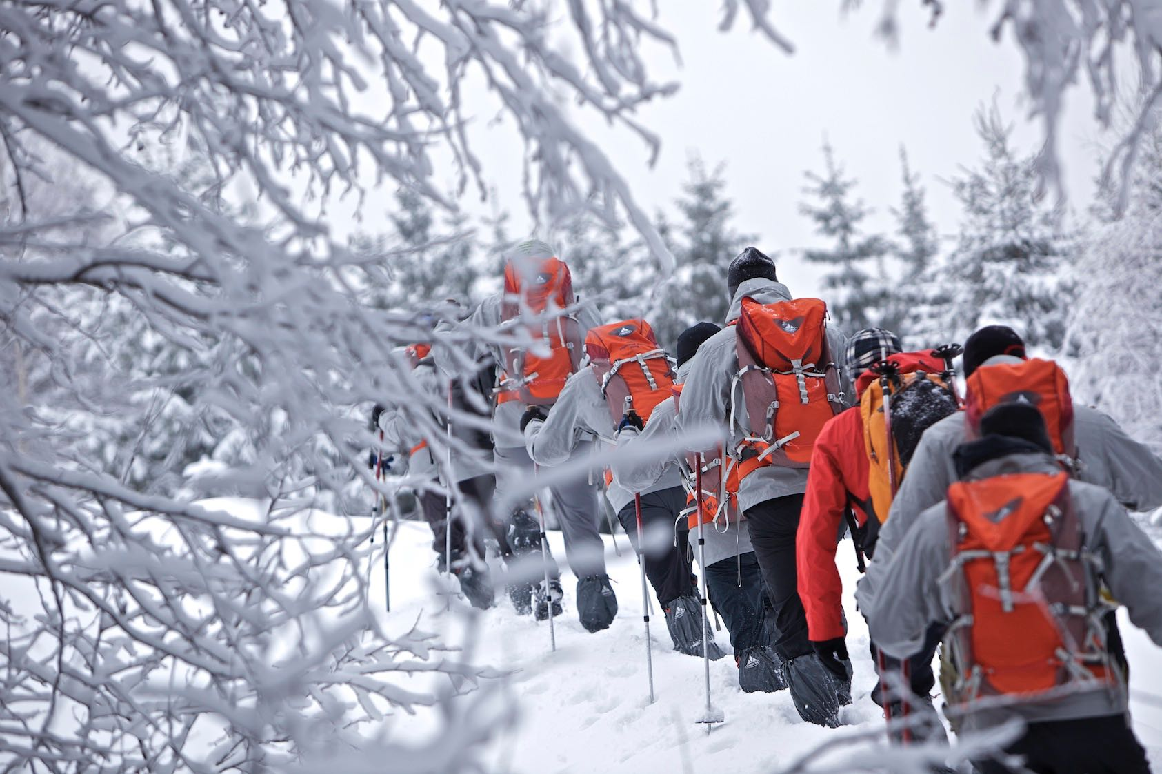 Winter-Trekking in den Karpaten