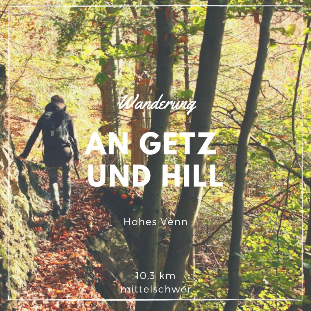 Wanderung Getz und Hill