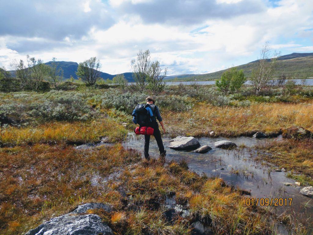 Im Dovrefjell–Sunndalsfjella National Park geht es über Stock und Stein